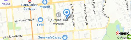 Sirius Logistics на карте Алматы
