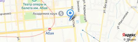 ABCD на карте Алматы