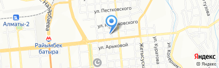 ЕСТ на карте Алматы