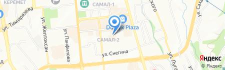 Seragem на карте Алматы