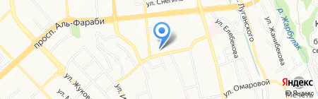 Атака на карте Алматы