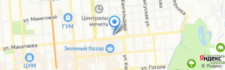 Flagman trade на карте Алматы