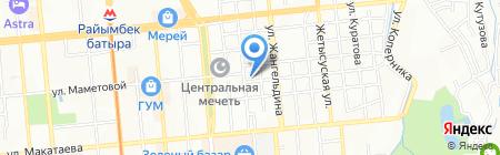 Винита Систем Алматы на карте Алматы
