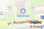 Схема проезда до компании Affinity в Алматы