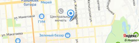 Алматытелеком городской центр телекоммуникаций на карте Алматы