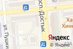 Схема проезда до компании MARK FORMELLE в Алматы