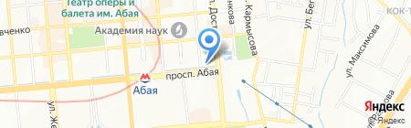 KAMILLA на карте Алматы