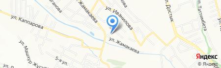 Boutique Hotel Alcazar на карте Алматы