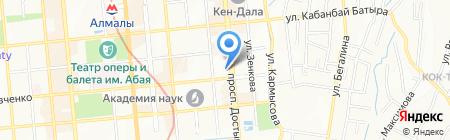FES на карте Алматы