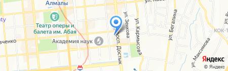 Район-2 на карте Алматы