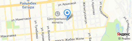 Deniz Tour на карте Алматы