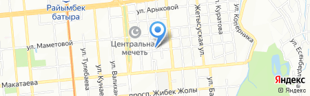 New Line Creative на карте Алматы