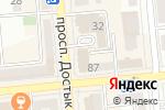 Схема проезда до компании HoReCa Training Group в Алматы