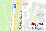 Схема проезда до компании Стоматология в Алматы