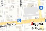 Схема проезда до компании RRL Almaty в Алматы
