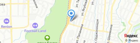 У Рощи на карте Алматы