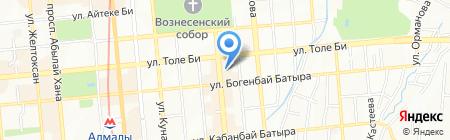Федерация дзюдо Республики Казахстан на карте Алматы