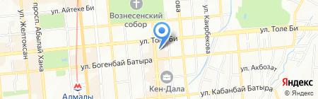 Grand Sapphire на карте Алматы