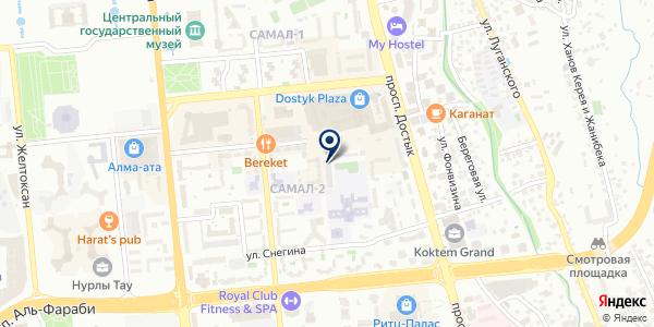 Geometry на карте Алматы