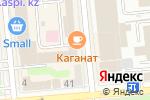 Схема проезда до компании Politech trade company в Алматы