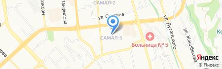 Smart Elephants на карте Алматы