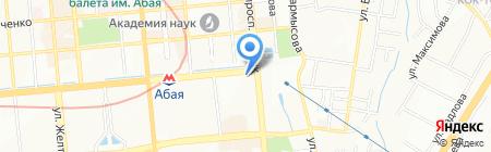 КИМЭП Казахстанский институт менеджмента на карте Алматы