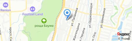 Сервисно-торговая компания на карте Алматы
