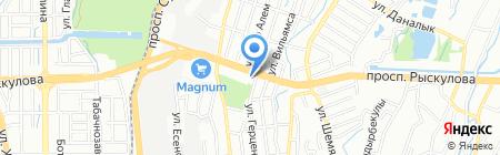 Поляна на карте Алматы