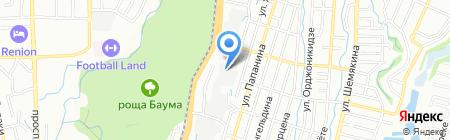 Завод Гидромаш-Орион на карте Алматы