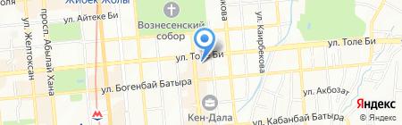 PZM на карте Алматы