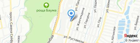 Республиканский корейский театр музыкальной комедии на карте Алматы
