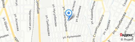 New Time на карте Алматы