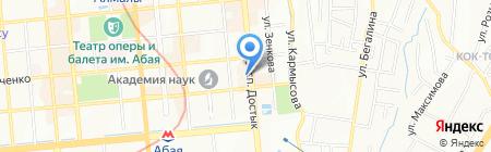 MAO на карте Алматы