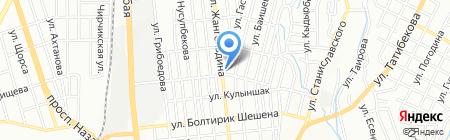 Мастерская по реставрации автомобильных номерных знаков на ул. Гастелло на карте Алматы