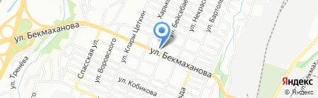 Джавани на карте Алматы