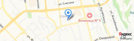 RBS Банк на карте Алматы