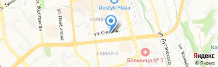Loker на карте Алматы