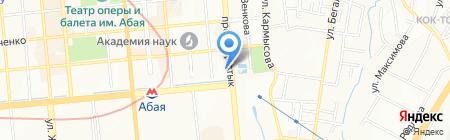 Департамент государственного архитектурно-строительного контроля и лицензирования по г. Алматы на карте Алматы