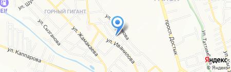 Радуга продовольственный магазин на карте Алматы