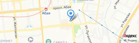 Когам жане Дауир на карте Алматы