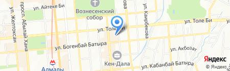 Жасыбай на карте Алматы