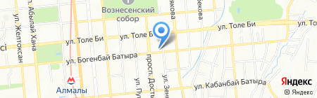 Roche Bobois на карте Алматы