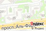 Схема проезда до компании P & B в Алматы