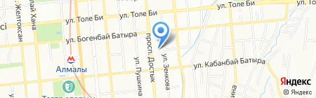 Eclair Express на карте Алматы