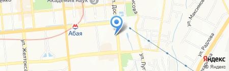 ДымOff Hookah Lounge на карте Алматы