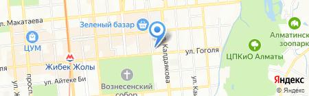 Bright Star на карте Алматы