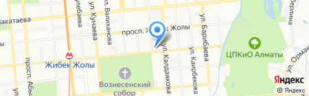 Планета Adv на карте Алматы
