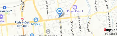 Мотоконюшня на карте Алматы