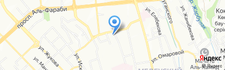 VIRA yoga rooms на карте Алматы
