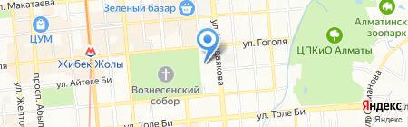 Зазеркалье на карте Алматы